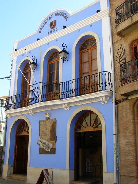 Seu de la Societat Musical d'Alboraia - València